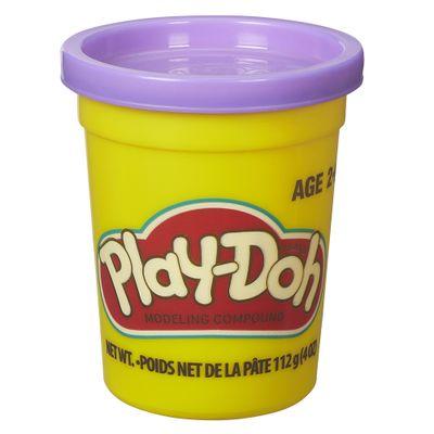 Massa-de-Modelar---Play-Doh---Potes-Individuais-110-grs---Roxo---Hasbro