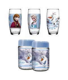 Conjunto-de-Copos---430-ml---e-Potes---598-ml---05-Pecas---Disney-Frozen---Nadir-Figueiredo