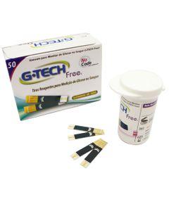 Tiras-para-Teste-de-Glicose---Free-1---Pote-com-50-unidades---G-Tech