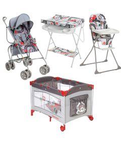 Kit-Carrinho-de-Passeio-com-Cadeira-de-Alimentacao----Berco-Play-e-Banheira-Com-trocador---Formula-Baby---Galzerano