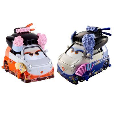 Veiculos-Hot-Wheels---Disney-Cars-2---Pack-com-2-Veiculos---Okuni-e-Shigeko---Mattel