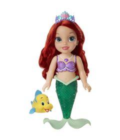 Boneca-para-Banho---Disney-Princesas---Ariel-com-Luzes-e-Sons---New-Toys