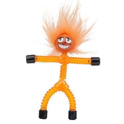 Mini-Figura-Magnetica---Magno-Z---Laranja---Carlos---DTC