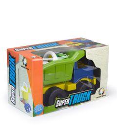 Carrinho-de-Praia---Super-Truck-com-Acessorios---Azul-e-Verde---Monte-Libano