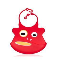 Babador-de-Silicone---Babamonster---Bocao---Vermelho---Tinok