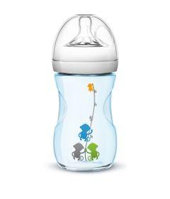 Mamadeira-Petala---Azul---Fluxo-Medio---260-ml---Philips-Avent