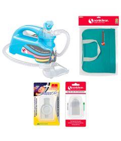 Kit-com-Bolsa-de-Transporte-e-Inalador-Nebulizador-Ultrassonico-Star-Premium-Azul-com-Acessorios---Soniclear