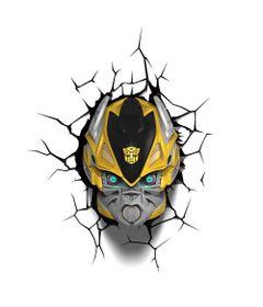 Luminaria-de-Parede---3D---Transformers---Bumblebee---Beeks-Geeks