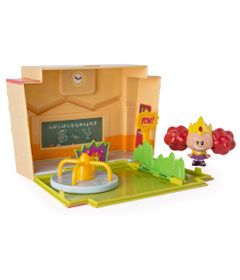 Mini-Playset-com-Figuras---As-Meninas-Super-Poderosas---Escola-com-Vila---Sunny