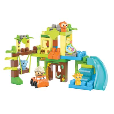 Mega-Bloks---Selva-Divertida---First-Builders---Mattel