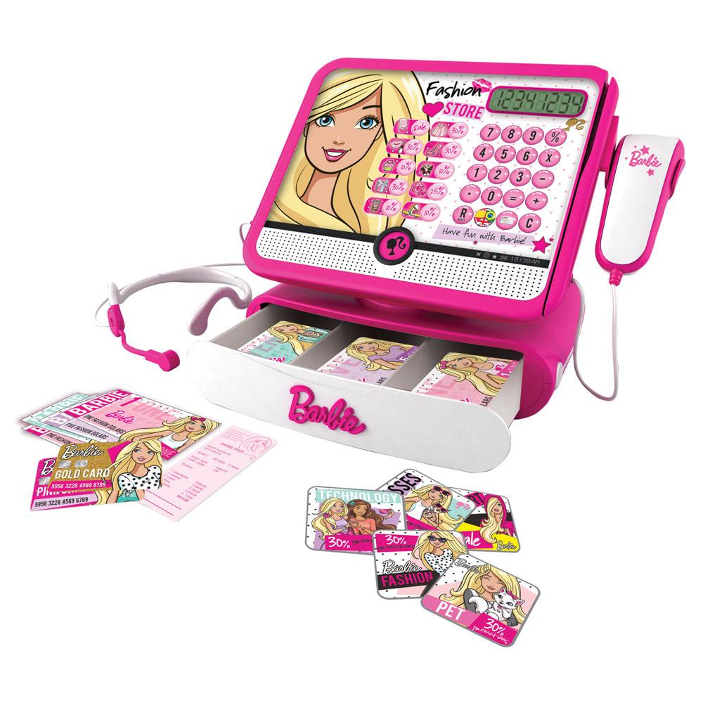Caixa Registradora - Fashion Store da Barbie - Intek