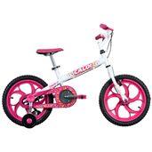 Bicicleta-ARO-16---Ceci---Rosa-e-Branca---Caloi