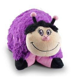 Travesseiro-Pelucia---Pillow-Pets---Joaninha-Roxa---DTC