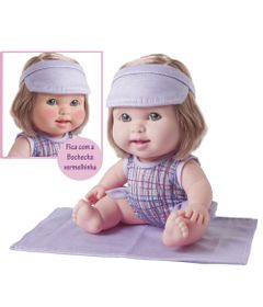 Boneca-Bebe---Betsy-Doll---Um-dia-na-Praia---Roxo---Toma-Sol-e-Fica-Vermelhinha---Candide