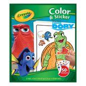 Livro-de-Colorir-com-Adesivos---Procurando-Dory---Crayola