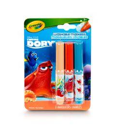 Conjunto-de-Canetinhas---3-cores---Procurando-Dory---Hank---Crayola
