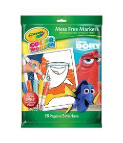 Livro-de-Colorir-com-Canetinhas---Color-Wonder---Procurando-Dory---Crayola