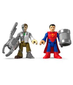 Superman-e-Metallo---Imaginext-DC-Super-Amigos---Fisher-Price