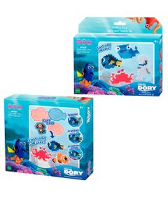 Conjunto-Aquabeads---Kit-de-Montagem-com-Formas-e-Personagens---Disney---Procurando-Dory---Dory---Epoch