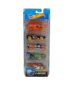Carrinhos-Hot-Wheels---Pacote-com-5-Carros---X-Raycers---Mattel
