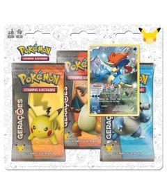Deck-Pokemon---Blister-com-3-Unidades---Pokemon-Geracoes---Keldeo---Copag