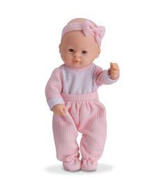 Boneca---Micro-Bebe-Mania---Pequenas-Amigas---Calca-Rosa-Listrada---Roma-Jensen-5351-frente
