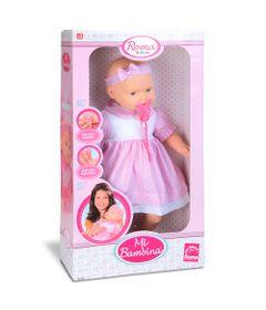 Boneca---Mi-Bambina---56-cm---Rosa-e-Branco---Roma-Jensen