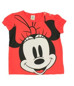 Blusa-Manga-Curta-em-Meia-Malha---Vermelha---Minnie---Disney---P