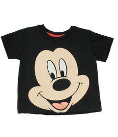 Camiseta-em-Meia-Malha---Preta---Mickey---Disney---P