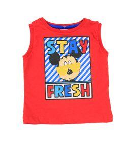 Camiseta-Regata-em-Meia-Malha---Vermelha---Mickey---Disney---P