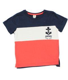 Camisa-Manga-Curta-em-Meia-Malha---Branco-Marinho-e-Vermelho---Mickey---Disney---1