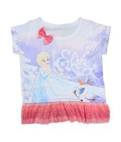 Blusa-Manga-Curta-com-Tule---Branca---Frozen---Disney---2