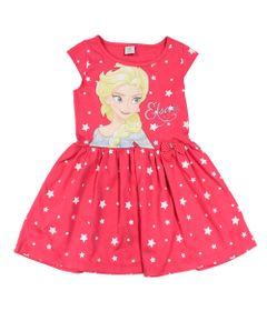 Vestido-Manga-Curta-em-Meia-Malha-com-Saia-de-Tule---Rosa---Frozen---Disney---2