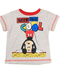 Camiseta-Manga-Curta---Mescla-Banana---Mickey---Disney---M