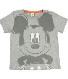 Camiseta-Manga-Curta-em-Meia-Malha---Mescla---Mickey---Disney---3