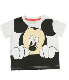 Camiseta-Manga-Curta-em-Meia-Malha---Branca---Mickey---Disney---M