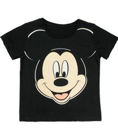 Camiseta-Manga-Curta-em-Meia-Malha---Preta---Mickey---Disney---3