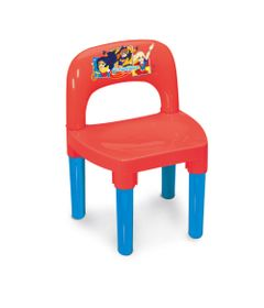 Cadeira-Infantil---DC-Super-Hero-Girls---Vermelho-e-Azul---Monte-Libano