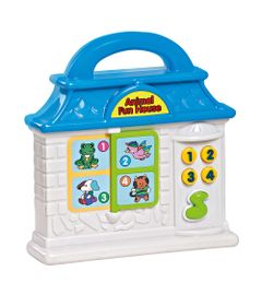 Playset---Bebe-Musical---Animal-Fun-House---Azul---Dican