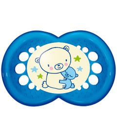 Chupeta-Night-Silk-Touch-Boys---Acima-de-6-Meses---Ursos---MAM