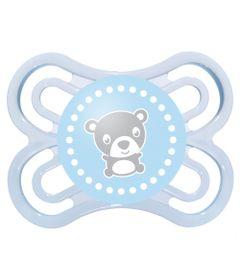 Chupeta-Perfect-Silicone---Fase-1---Azul---Urso---MAM