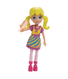 Boneca-Polly-Pocket---Sortimento-Basico---Polly-com-Sorvete---Mattel