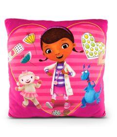 Almofada-Estampada-30x30-Cm---Disney---Doutora-Brinquedos---DTC