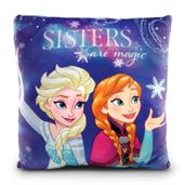 Almofada-Estampada-30x30-Cm---Disney---Frozen---Elsa-e-Anna---DTC