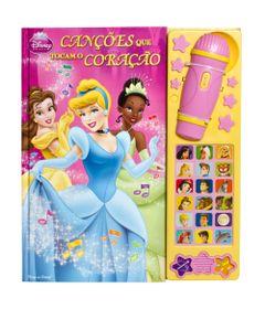 Livro-e-Microfone---Disney-Princesas---Coracoes-que-Tocam-o-Coracao---DCL