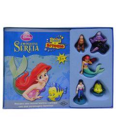 Livro-e-Mini-Figuras-Disney---Leia-e-Brinque-Princesas---A-Pequena-Sereia---DCL
