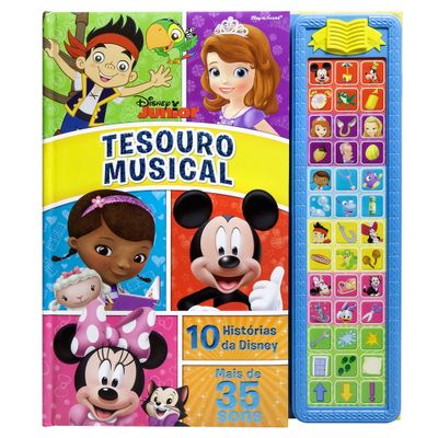 Livro-Musical-Disney---Tesouro-Musical-Disney-Junior---DCL