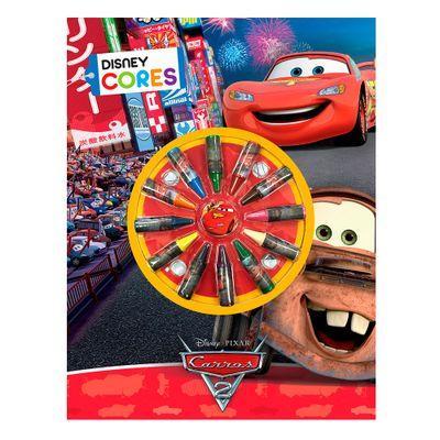 Livro-de-Colorir-Disney---Carros-2-com-Giz-de-Cera---DCL