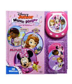 Livro-Music-Player-Disney---Disney-JR-Meninas---DCL