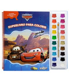 Superlivro-para-Colorir---Disney-Carros---DCL